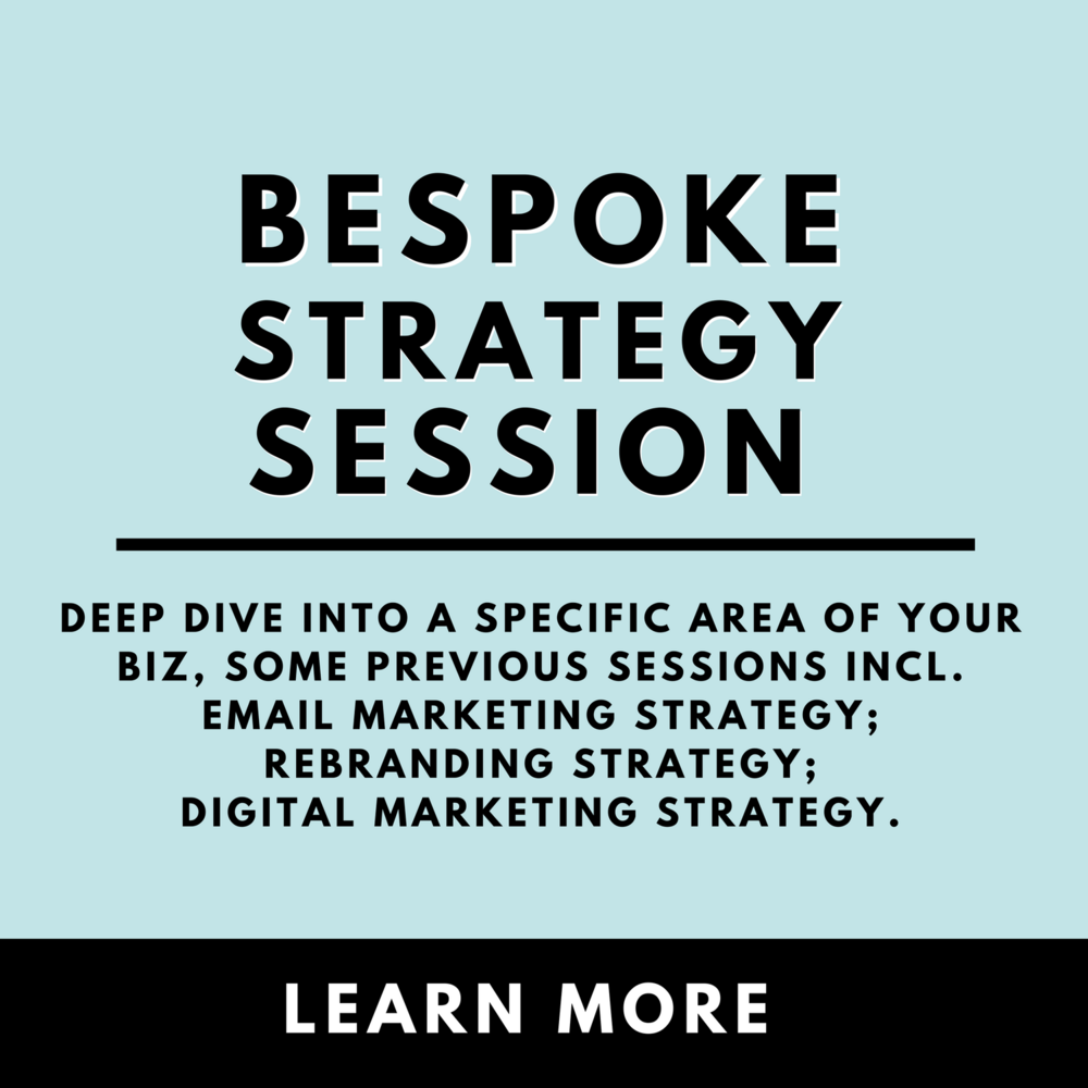 Copy of Bespoke Strategy Session