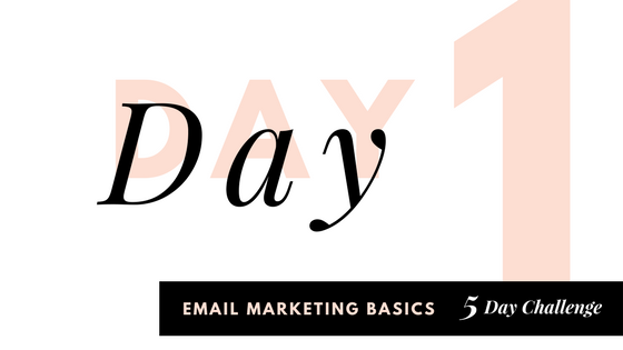 Email Challenge Day 1