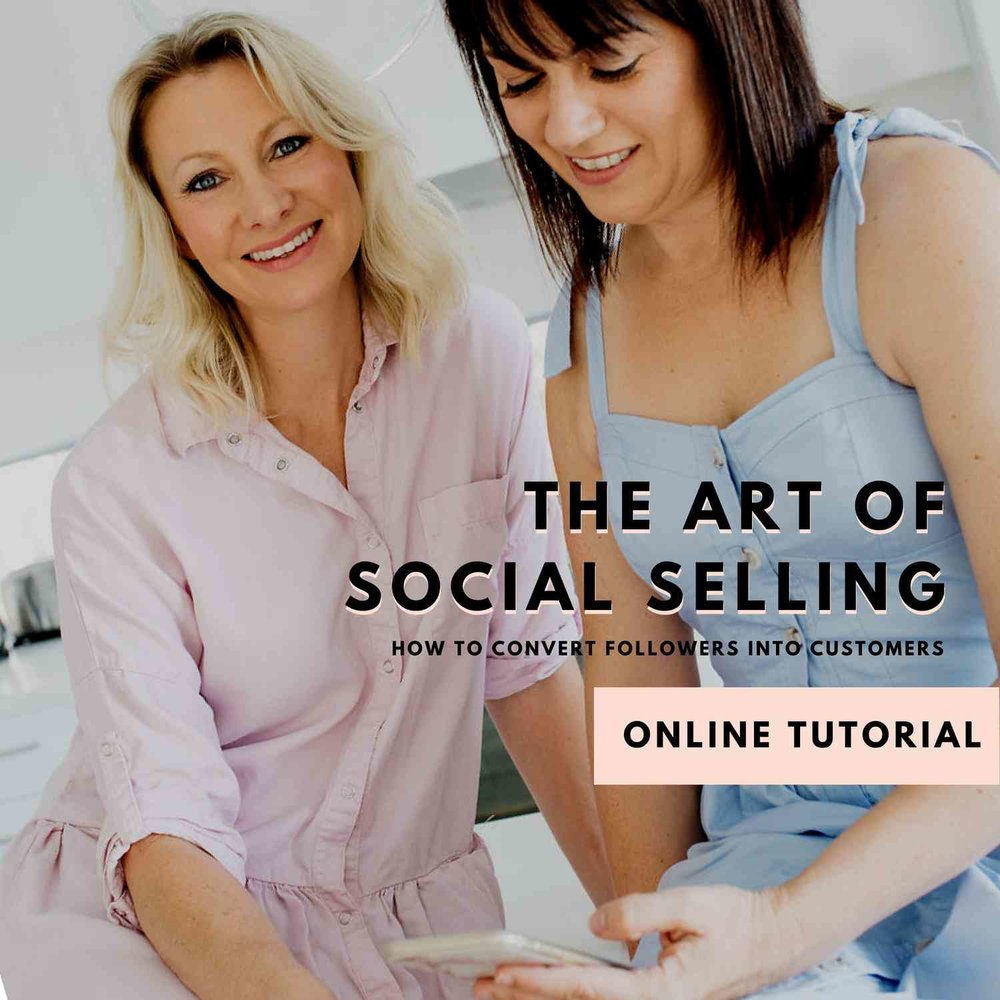 The Art of Social Selling - During the tutorial, you will learn how to build an engaged community with your Social Media Content, which will turn your followers into paying customers.