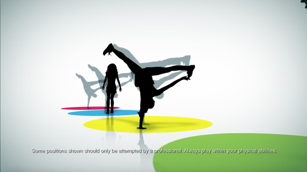 Xbox 360 Kinect - "Twister"