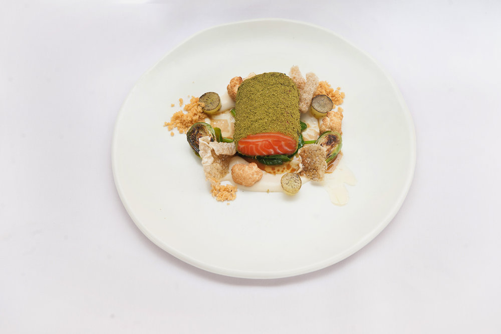 Slow cooked ocean trout with grape and lemon myrtle.jpg