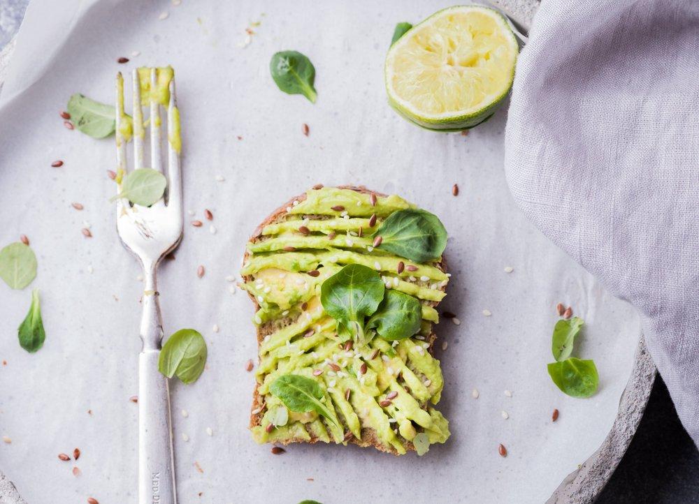 5. avocado -