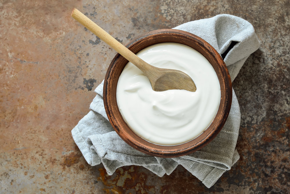 8. greek yoghurt -