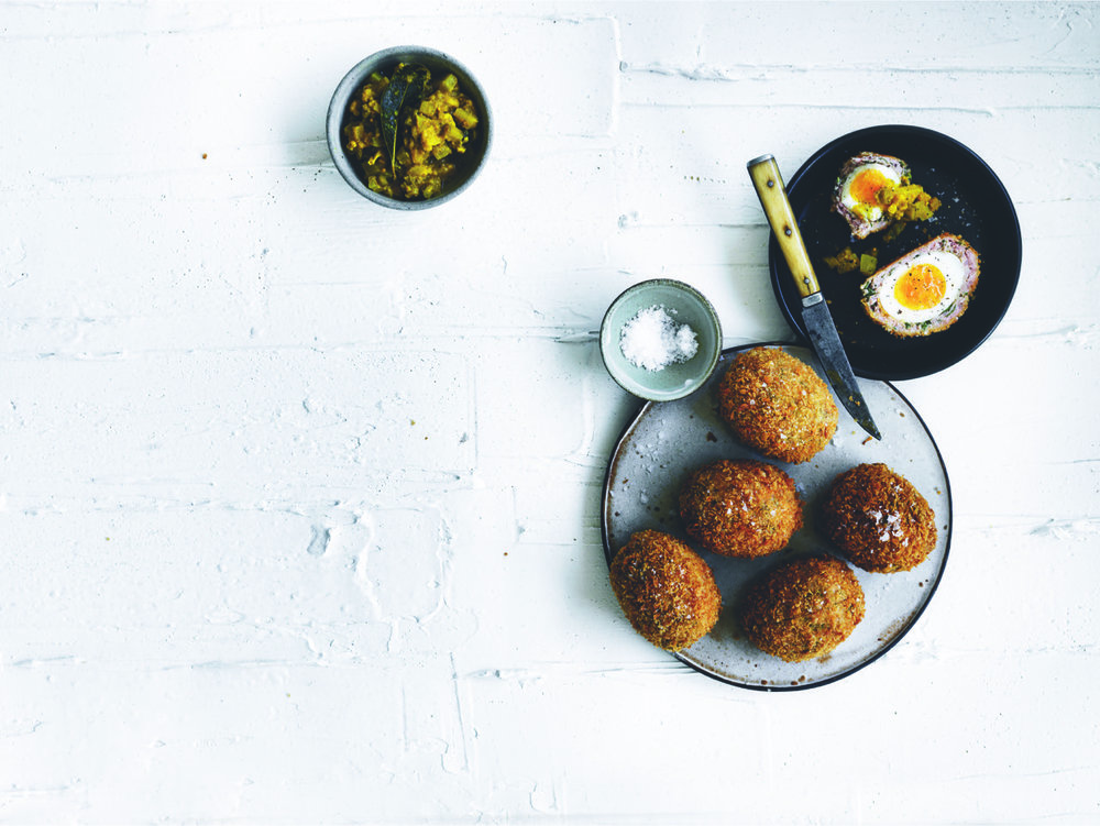 Steve Flood's famous Scotch Egg.