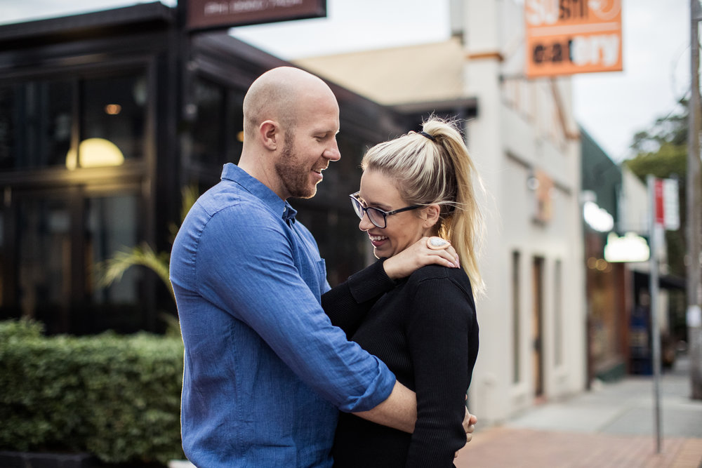 Bronte and Matt are looking forward to a March 2019 wedding, but Fitzy and Wippa are unlikely to get a bait as Best Men, says the popular Newsreader.  IMAGE: Graham Monro/gmphotographics