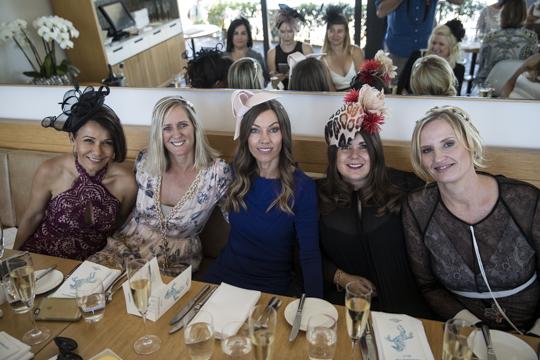 Julie Furlong, Karen Philp, Jen Haig, Fiona Paris, Audrie Purcell
