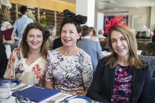 Jill Brunsdon, Kim Burton and Susan Loewensohn.