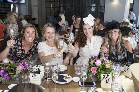 Lou Campbell, Amelia Curic, Tess Regan and Gemma van Hamburg.