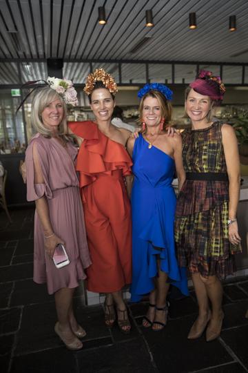 Julie Kearns, Lizzie Kemp (BEST DRESSED), Rose Mezrani and Mel Hartman.