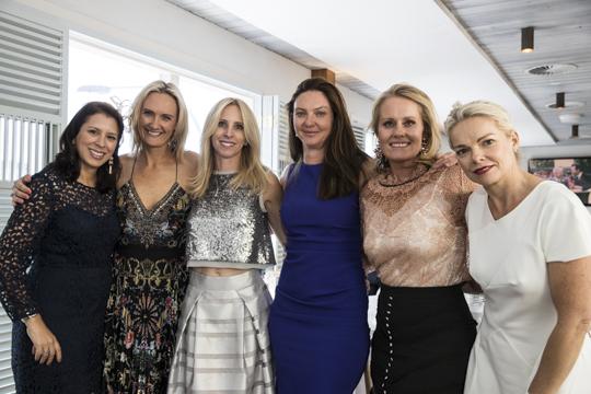 Monica Rosser, Erika Kessler, Ragen Palmer, Julia Ramage, Imogen Hannan and Rebecca Webber.