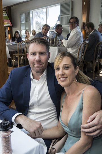 Brendon and Rebecca Rodda.