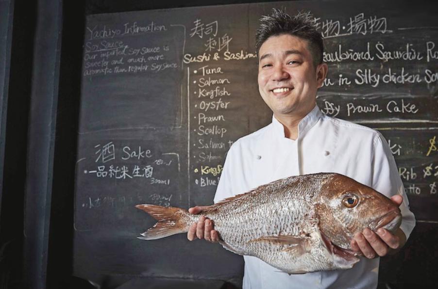 Chef Mitsuhiro Yashio. Image:  Yachiyo