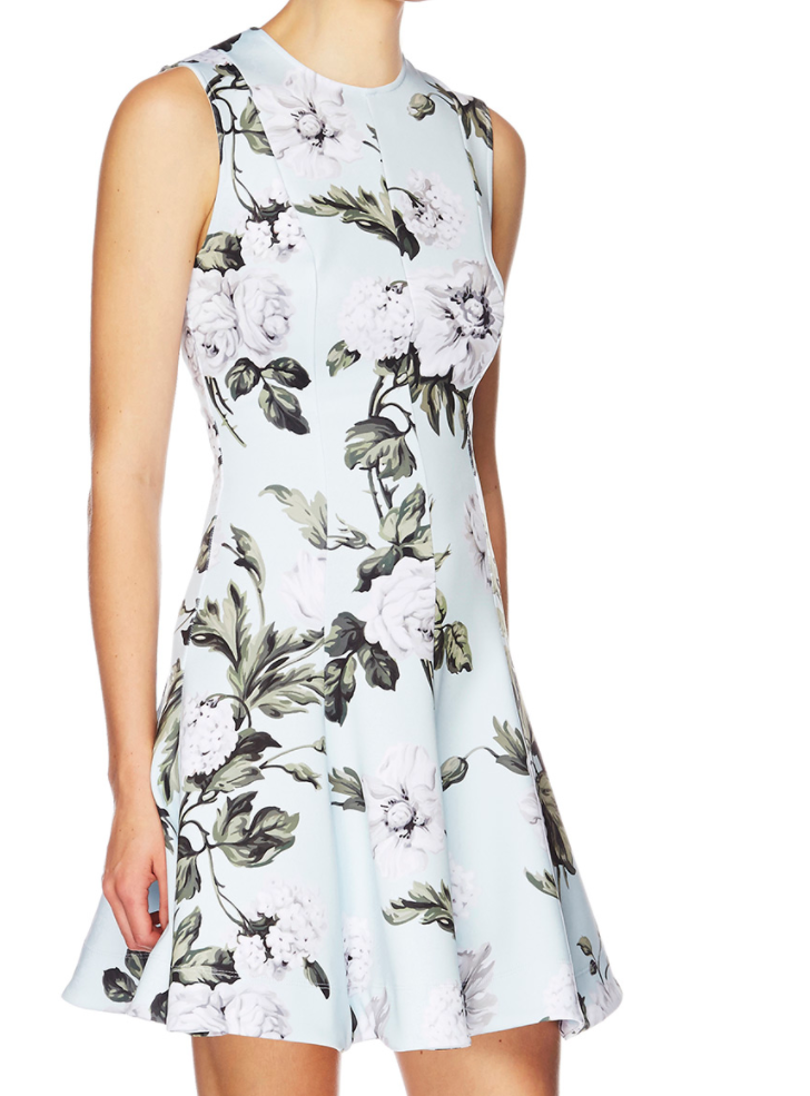 LOVER - Watercolour A-line dressAvailable: Fox & Dove Boutique.1a/647 Military Rd, Mosman.$395