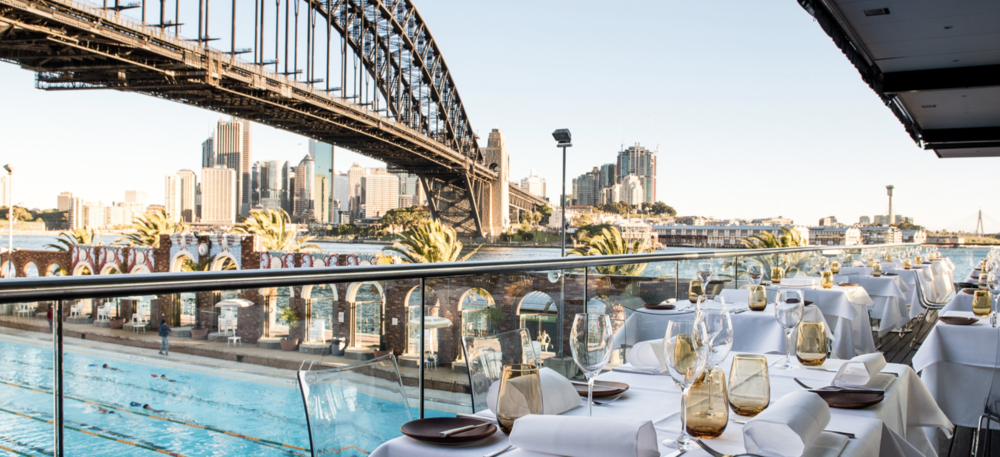 Some of the best views in the world await you at Aqua Dining on Christmas Day.