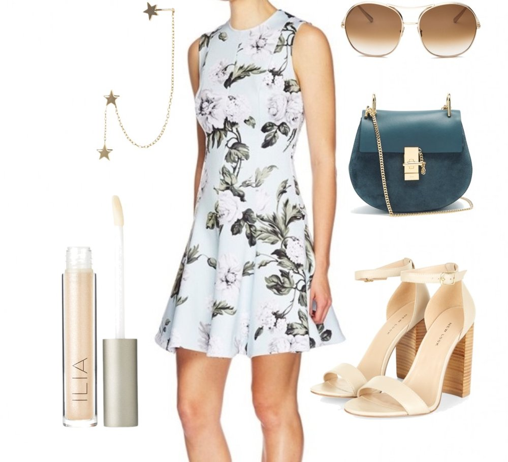 Sam's Christmas party edit for pear shaped dressing.