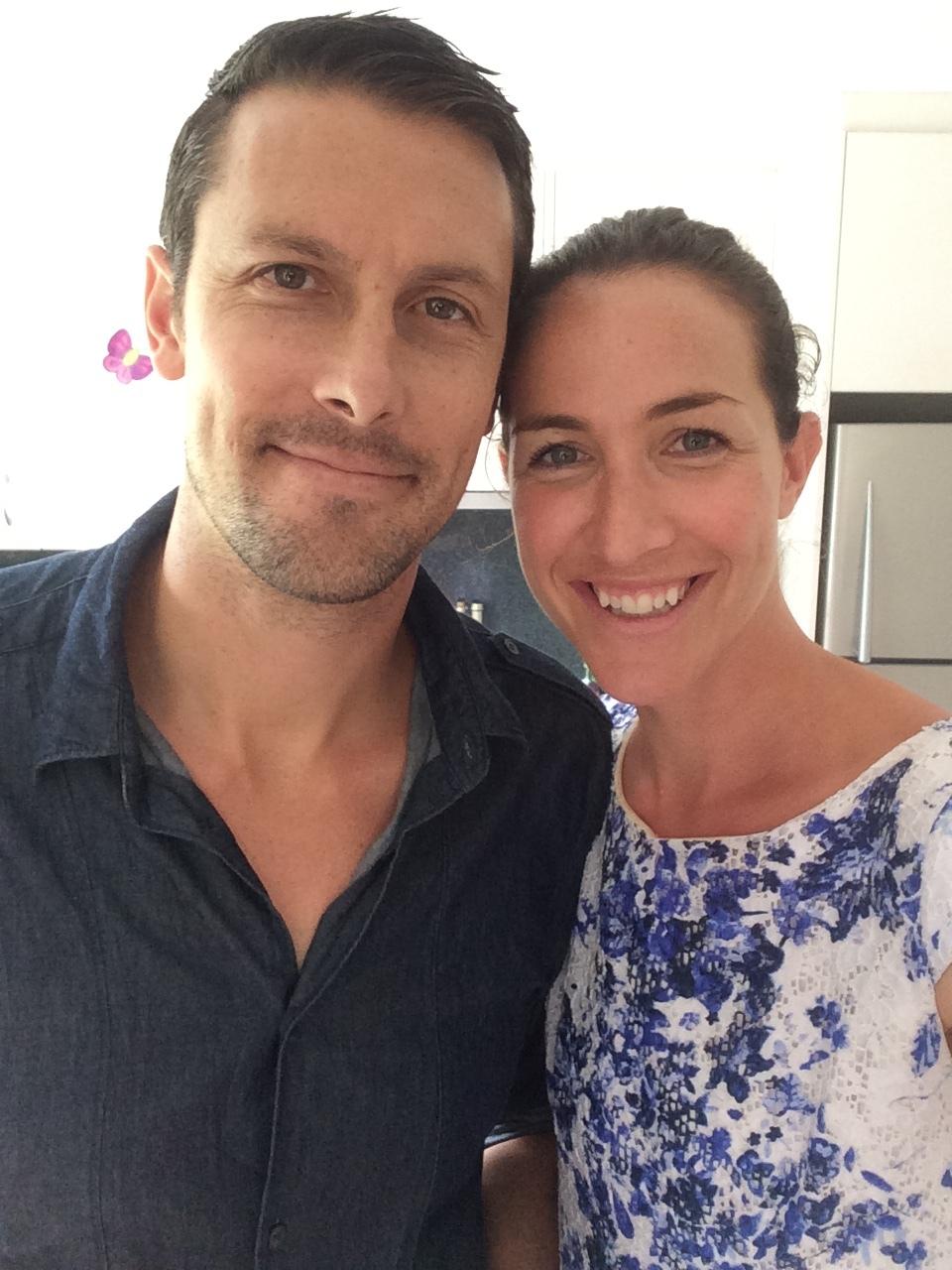 Elka Whalan and husband Thomas.