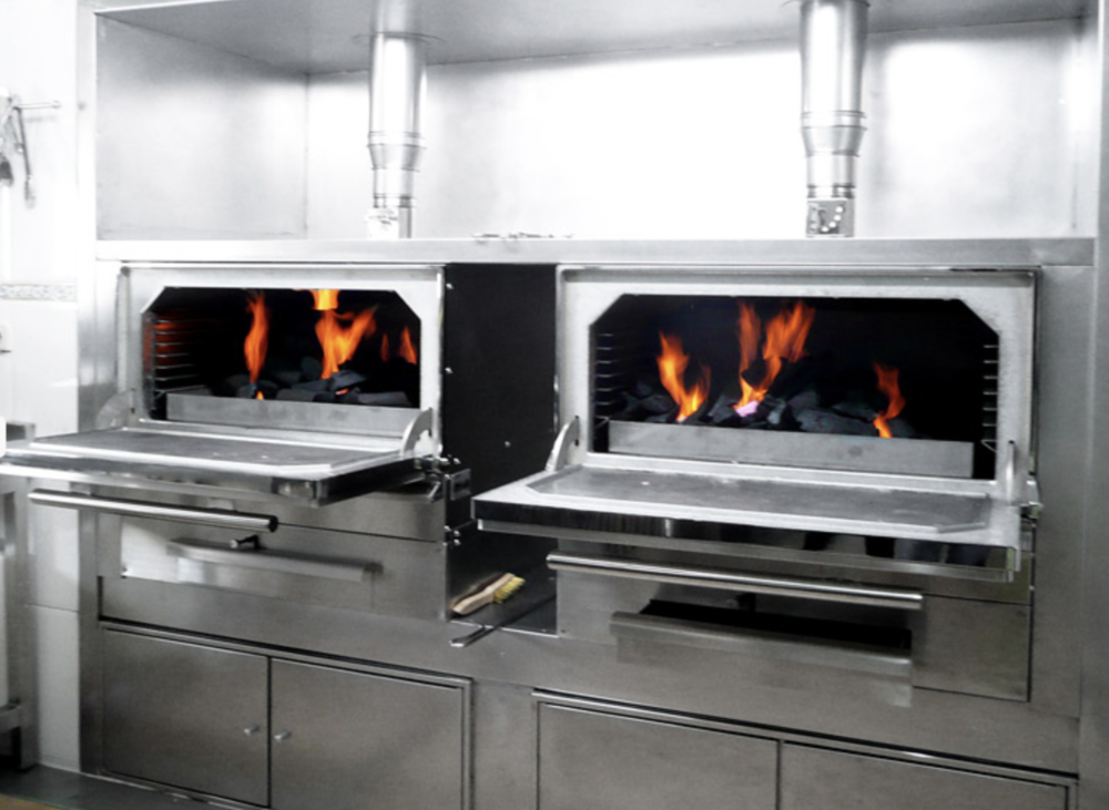 WHAT IS A JOSPER? - A Josper is an elegant wood-burning grill and oven in a single operation that reaches temperatures in excess of 500 degrees. It is used extensively in the Meditteranean to impart a subtle, smoky flavour from the simplicity of cooking over hot coals.(Image: josper.es