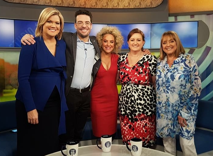 Amanda Howard is a regular guest on Studio 10