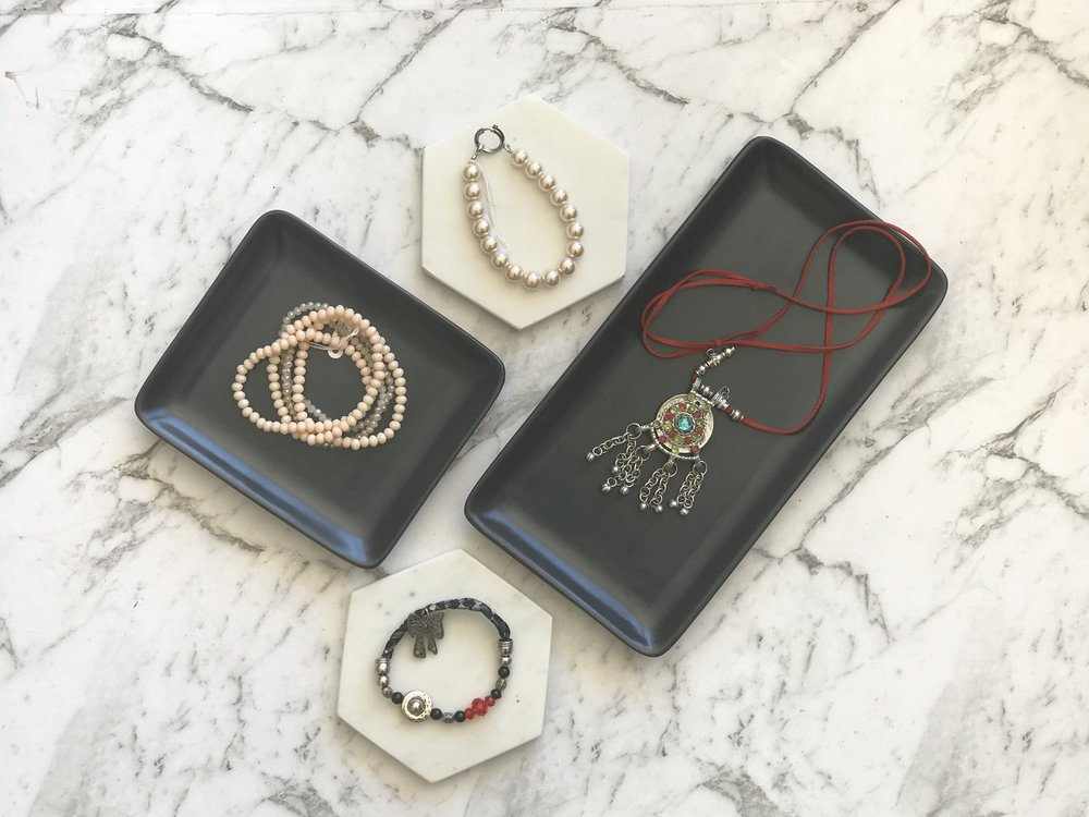 Lisa D Boutique - Tribal necklace, pearl bracelet, tribal bracelet and selection of beaded bracelets valued at $150.