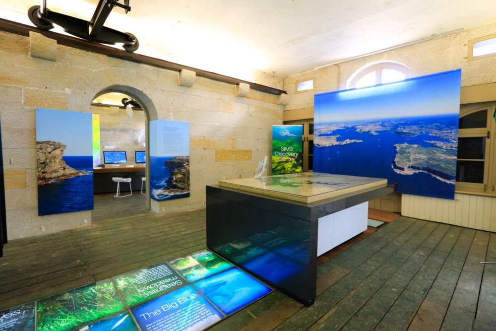 SIMS Discovery Centre at Chowder Bay. Have you been?