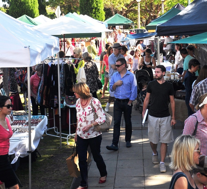 Mosman Markets are back in February 2018.