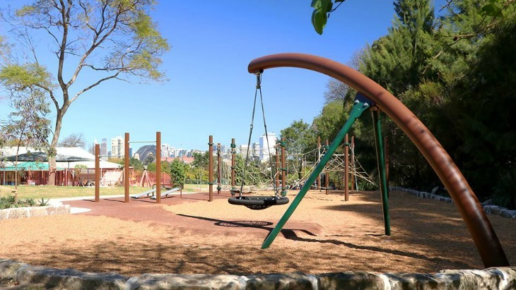 Forsyth Park in Neutral Bay is a current favourite for local kids.