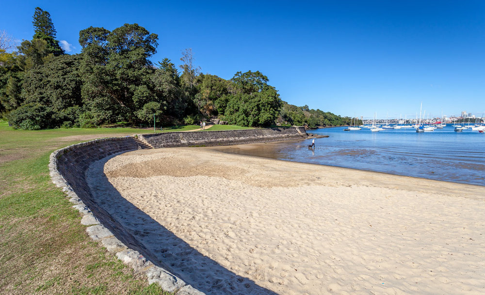 The Curlew Artists' Camp walk begins at Sirius Cove.