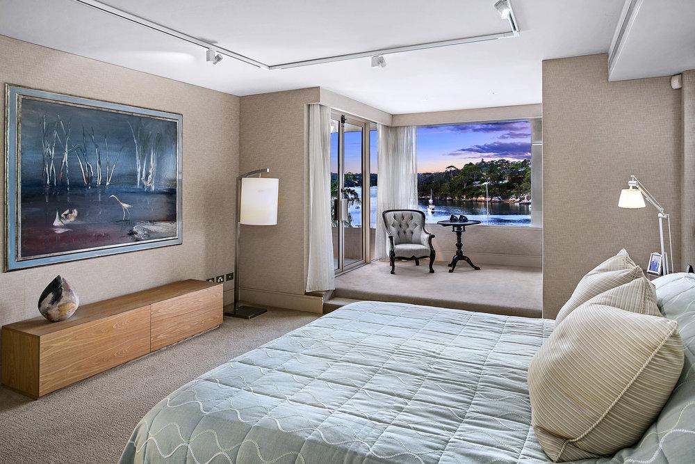 Each bedroom offers five star luxury, says Matthew Smythe.