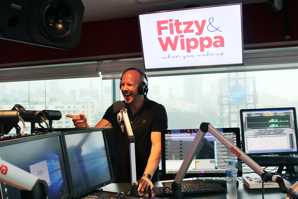 Mosman loves listening to Newsreader Matt de Groot (on the Fitzy and Wippa breakfast show) each weekday from 6am-9am.