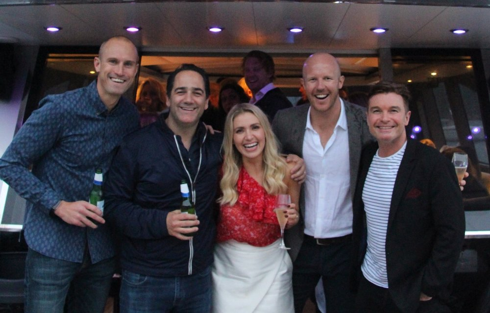 Matt and Bronte with Nova's Fitzy and Wippa.