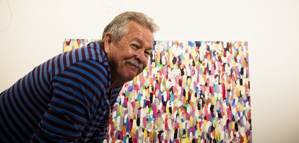 Ken says he is thrilled to be involved in the 30th anniversary of the Mosman Youth Art Prize.  Image: Graham Monro/ gmphotographics