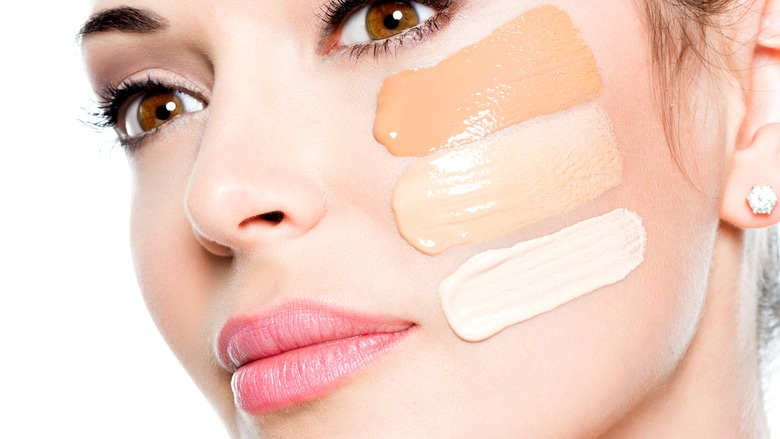3. FOUNDATION - If you haven't used a tinted moisturiser (see Step 1), now is the time to apply your foundation.Please note that it should NOT be worn like a mask. You want your skin to look like SKIN, especially when you are over 40!