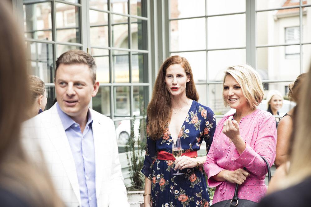 Ben Fordham, Tess Regan and Georgie Gardner.