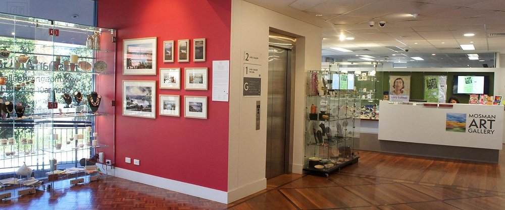 Mosman Art gallery is a great place to get local inspiration, says Lori.
