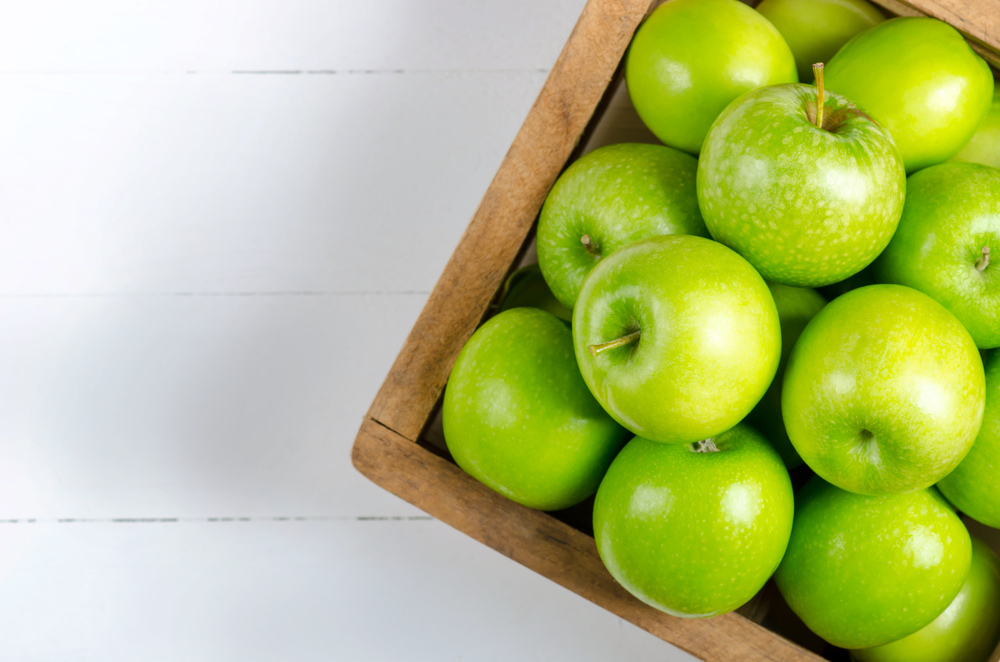 Granny Smith apples. The secret ingredient to Mel's sausage rolls.