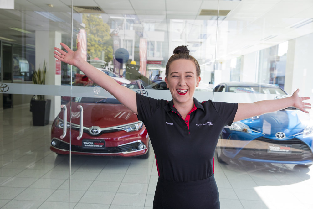 At just 27, Belinda Gibbons is making waves in the male dominated car industry.