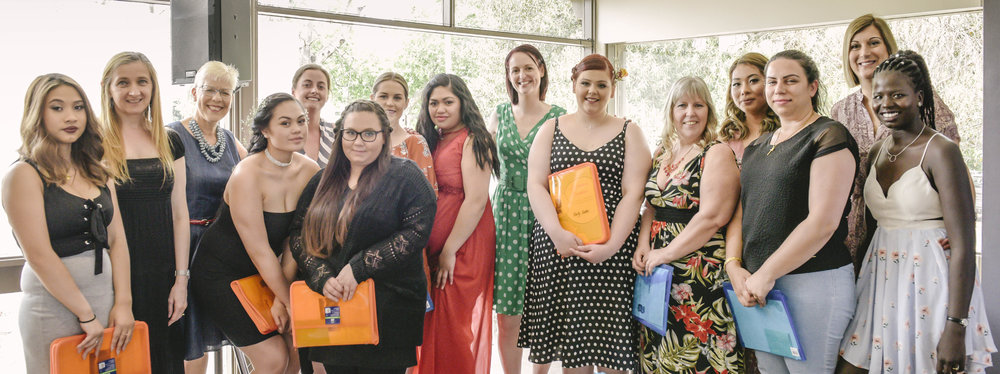 """Some graduates from the Raise """"Bump"""" program, designed to help teen Mums."""