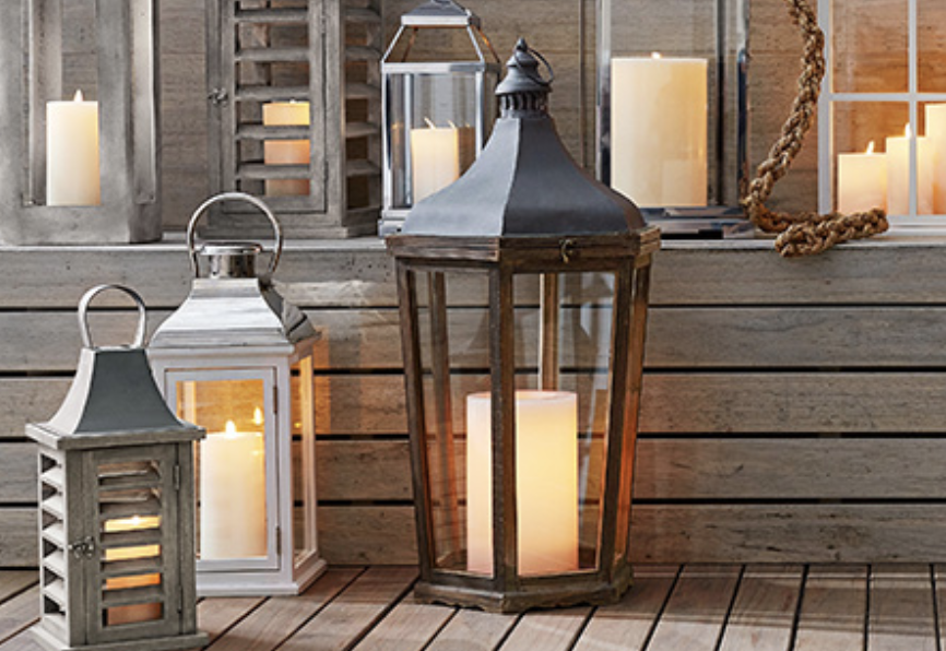 3. Lighting - Take advantage of natural and warm indoor lighting. Use light globes with a