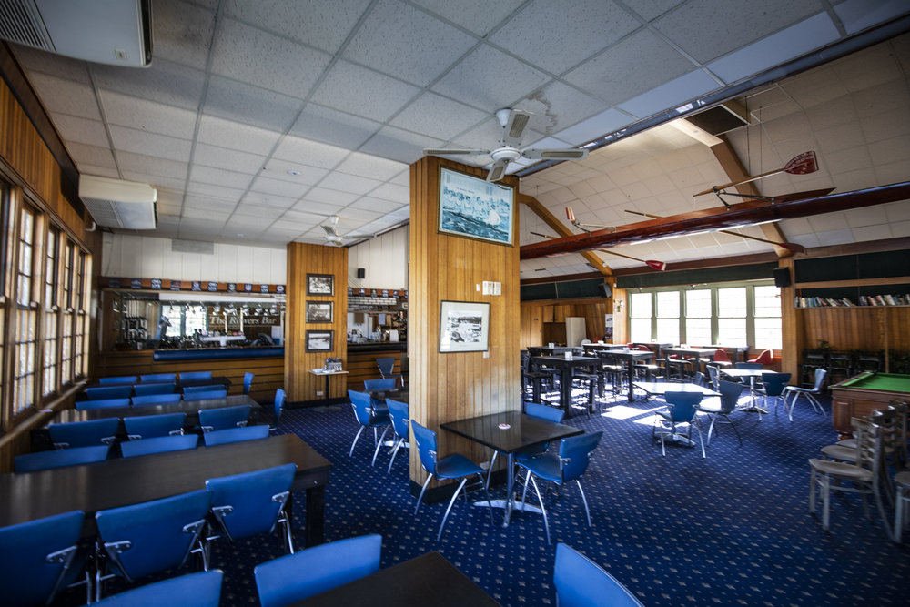 The Rowers is desolate, after the doors were padlocked and the club put into administration in May 2018.
