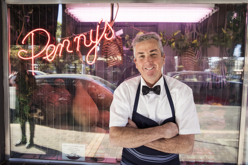 After more than three decades in Mosman, Stephen Penny is calling time on local institution, Penny's.