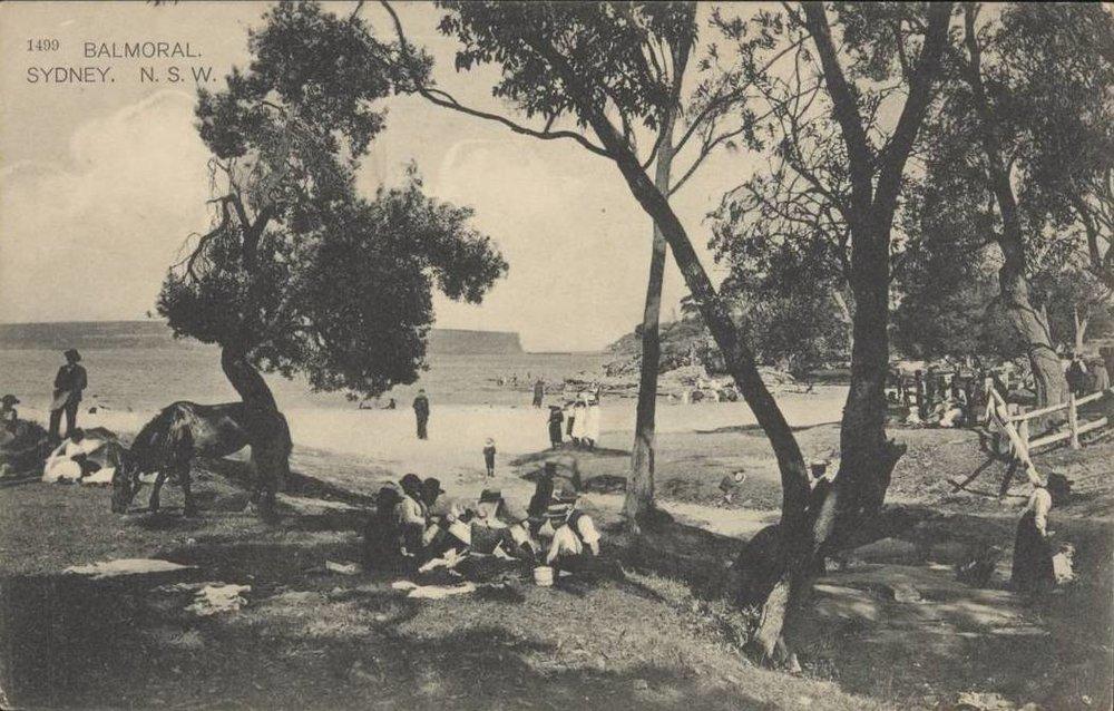Picnickers at Balmoral Beach c.1906.jpg