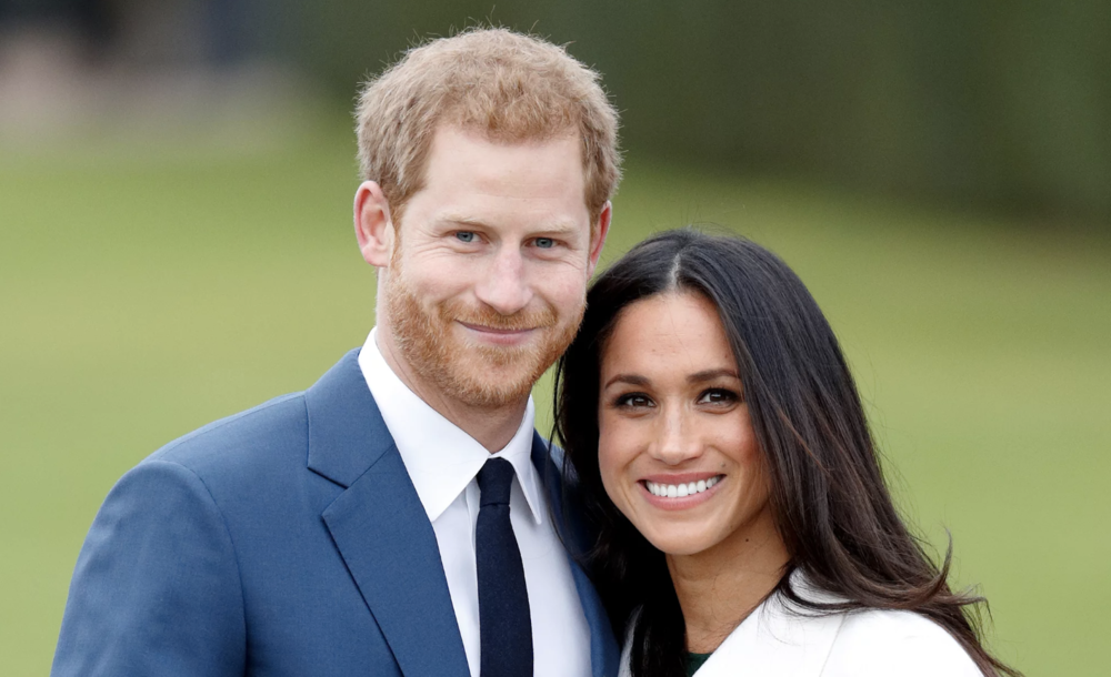 Prince Harry and Meghan Markle. Image: Getty.