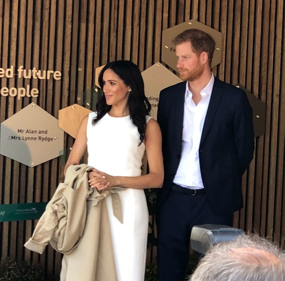 Meghan and Harry at Taronga Zoo