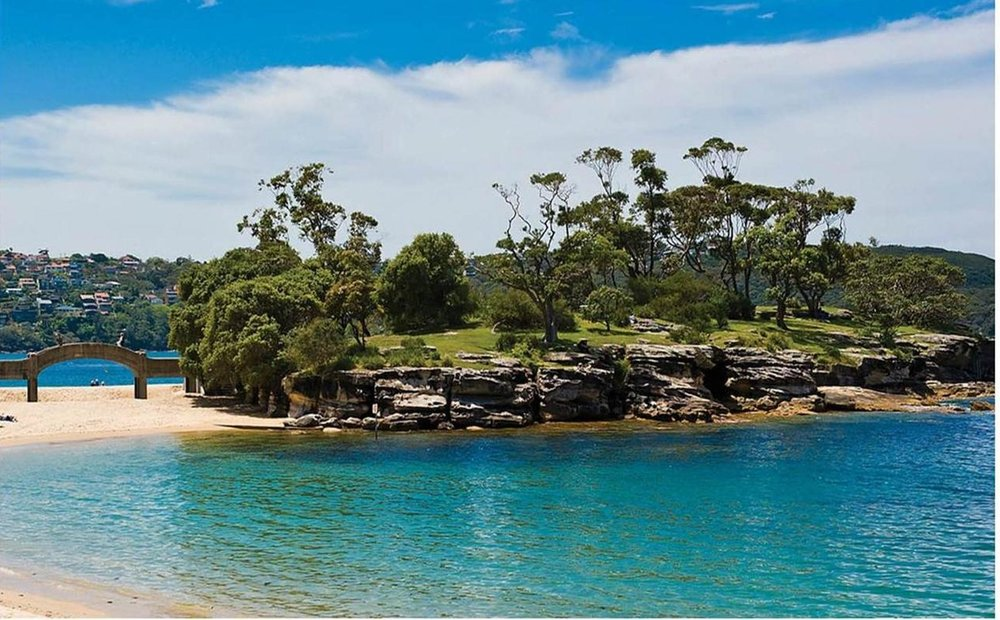The bridge to Rocky Point Island is one of Jacinta's favourite local landmarks.