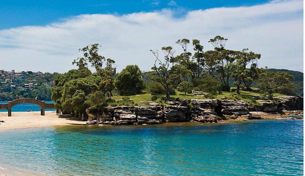 Sun - sand - and SNAKES at Balmoral this week!