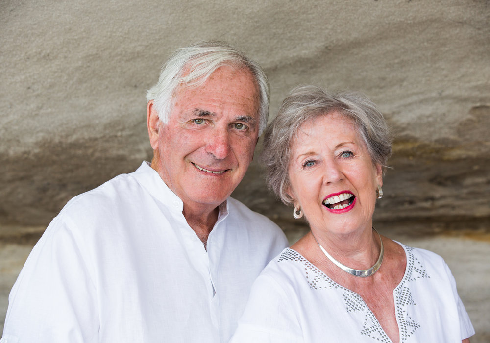 Ivan and Beth Hodge today.