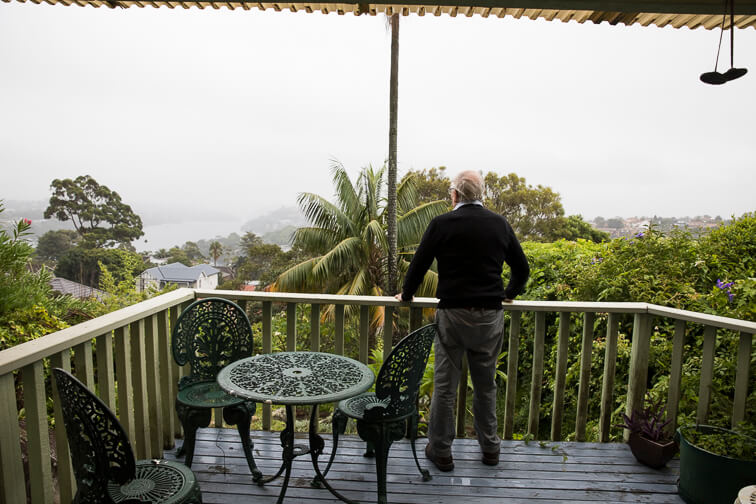 Gavin Souter at home in Mosman.