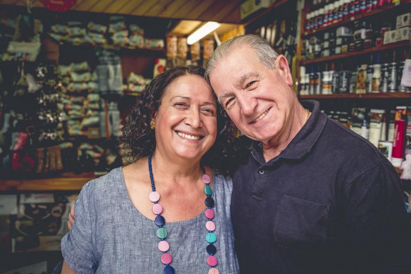 Carl and Elizabeth from Carl's Shoe Repairs Mosman