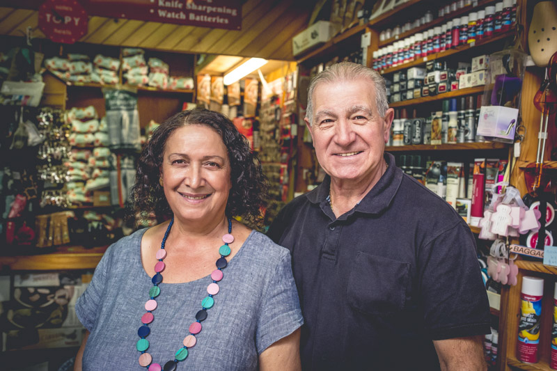 MOSMAN TREASURES: Carl and wife Elizabeth will retire in Umina, on the NSW Central Coast.