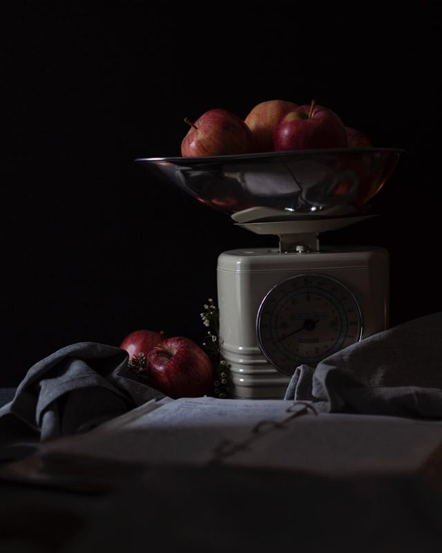 "One of the images from a special project I worked on over this year. ""Mom's Apple Pie"", a photo study using a recipe from my mom's old cookbook, incorporating various lighting and styling techniques I've never tried. It was definitely challenging but totally worth it! Thought it an appropriate post for the season ☺️🍎 . . . . . . . #photography #foodphotography #apples #styling #bostonfoodie #darkfoodphotography #foodstyling #bakedapples #applepie #recipes #applerecipes #momsrecipe #bostonfoodblogger #bostonbaker #medfordphotography #medfordfood #crust #pie #fooddaily #foodinspiration"